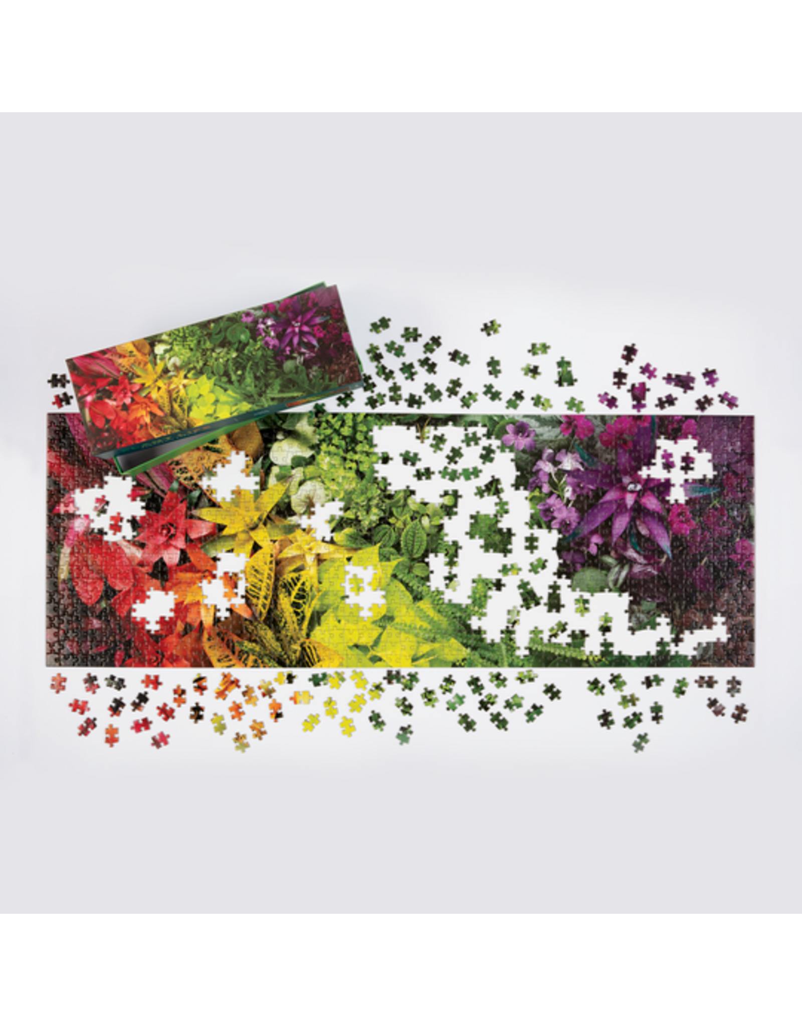 "Galison ""Plant Life"" 1000 Piece Panoramic Puzzle"