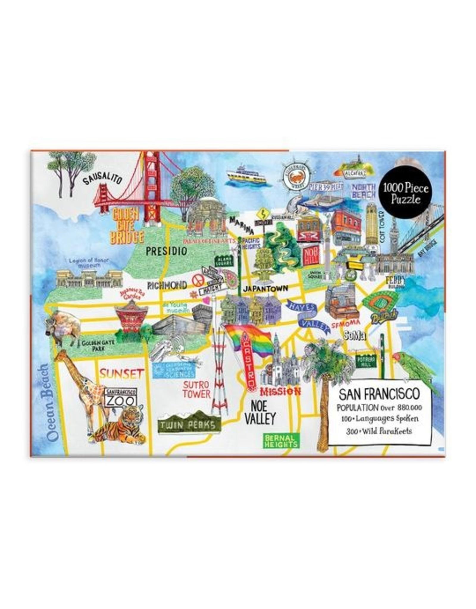 """Galison """"San Francisco"""" 1000 Piece Puzzle"""