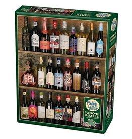 """Cobble Hill """"Wine Alphabet"""" 1000 Piece Puzzle"""