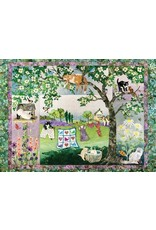 """Cobble Hill """"Wind in the Whiskers"""" 1000 Piece Puzzle"""
