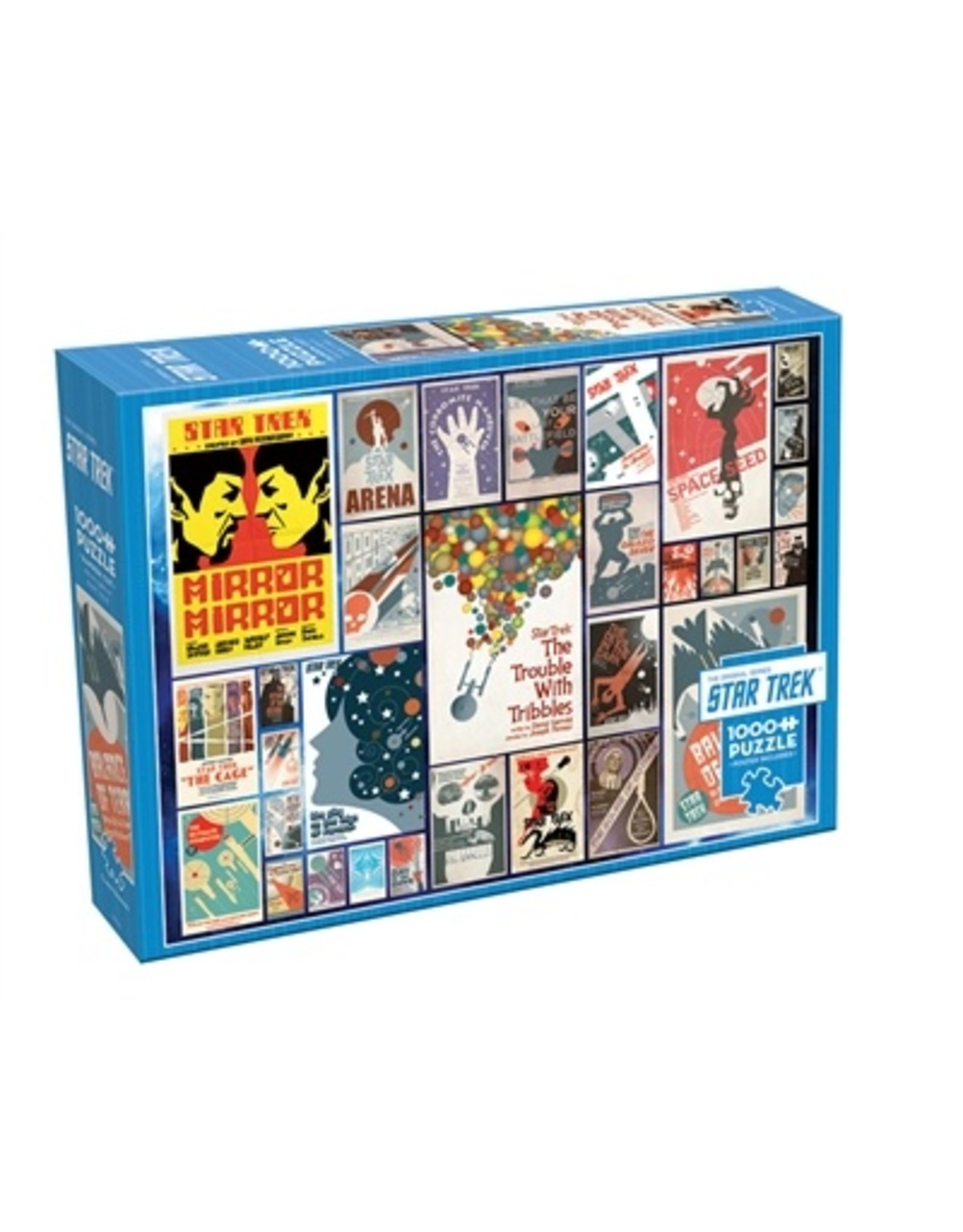 """Cobble Hill """"Star Trek Classic Episodes"""" 1000 Piece Puzzle"""