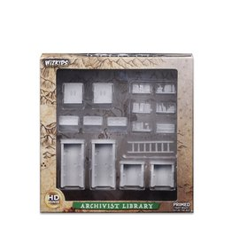 Wizkids Unpainted Miniatures: Archivist Library