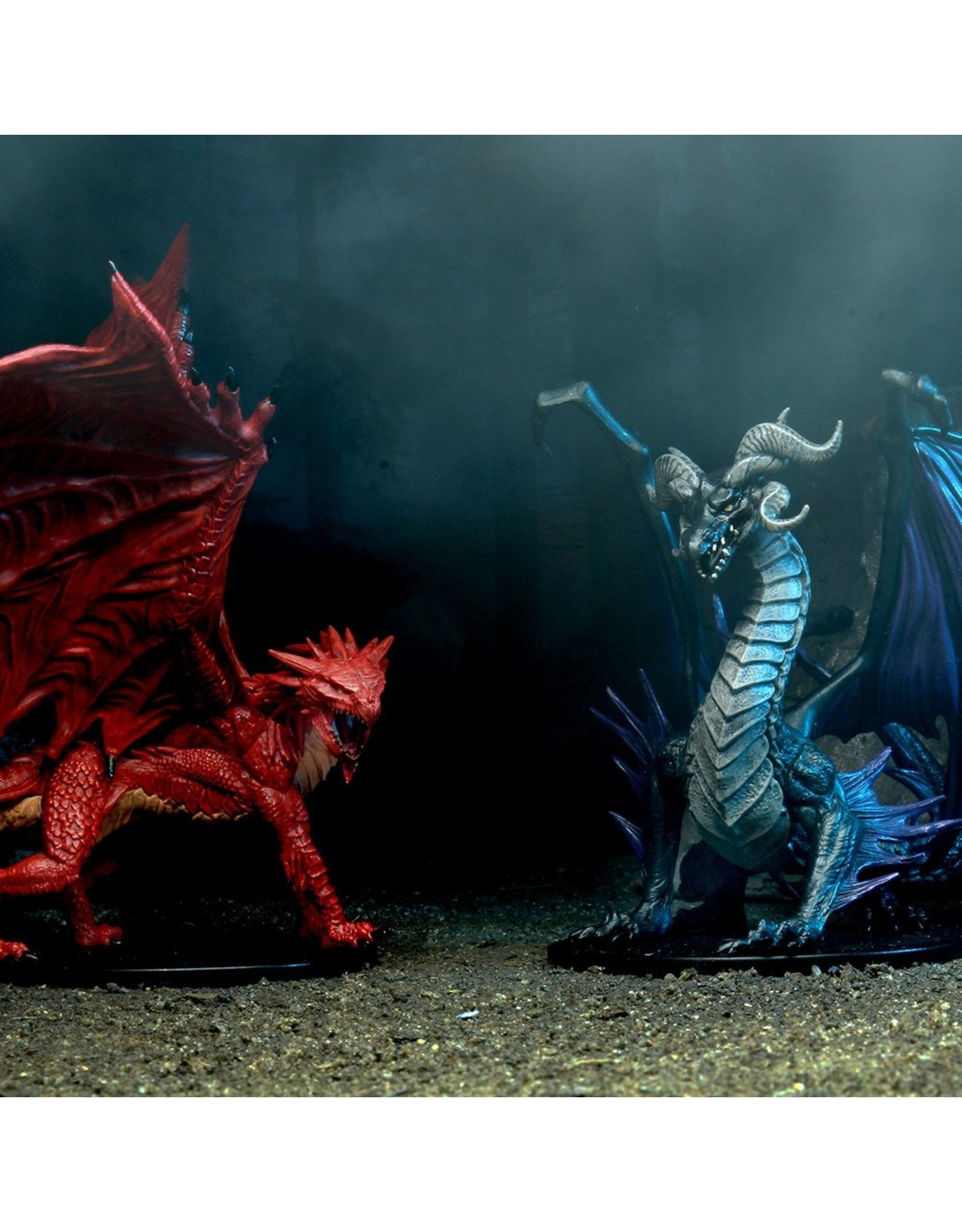Wizkids Pathfinder Battles: City Of Omens Black and Red Dragon