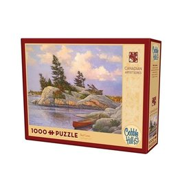 "Cobble Hill ""Red Canoe"" 1000 Piece Puzzle"