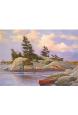 """Cobble Hill """"Red Canoe"""" 1000 Piece Puzzle"""