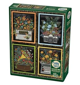 "Cobble Hill ""Floral Objects"" 1000 Piece Puzzle"