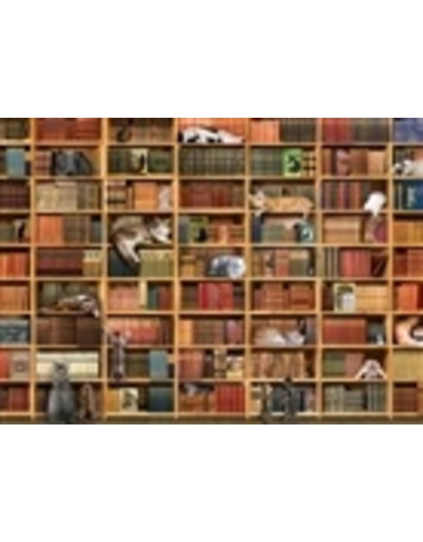 """Cobble Hill """"The Cat Library"""" 1000 Piece Puzzle"""