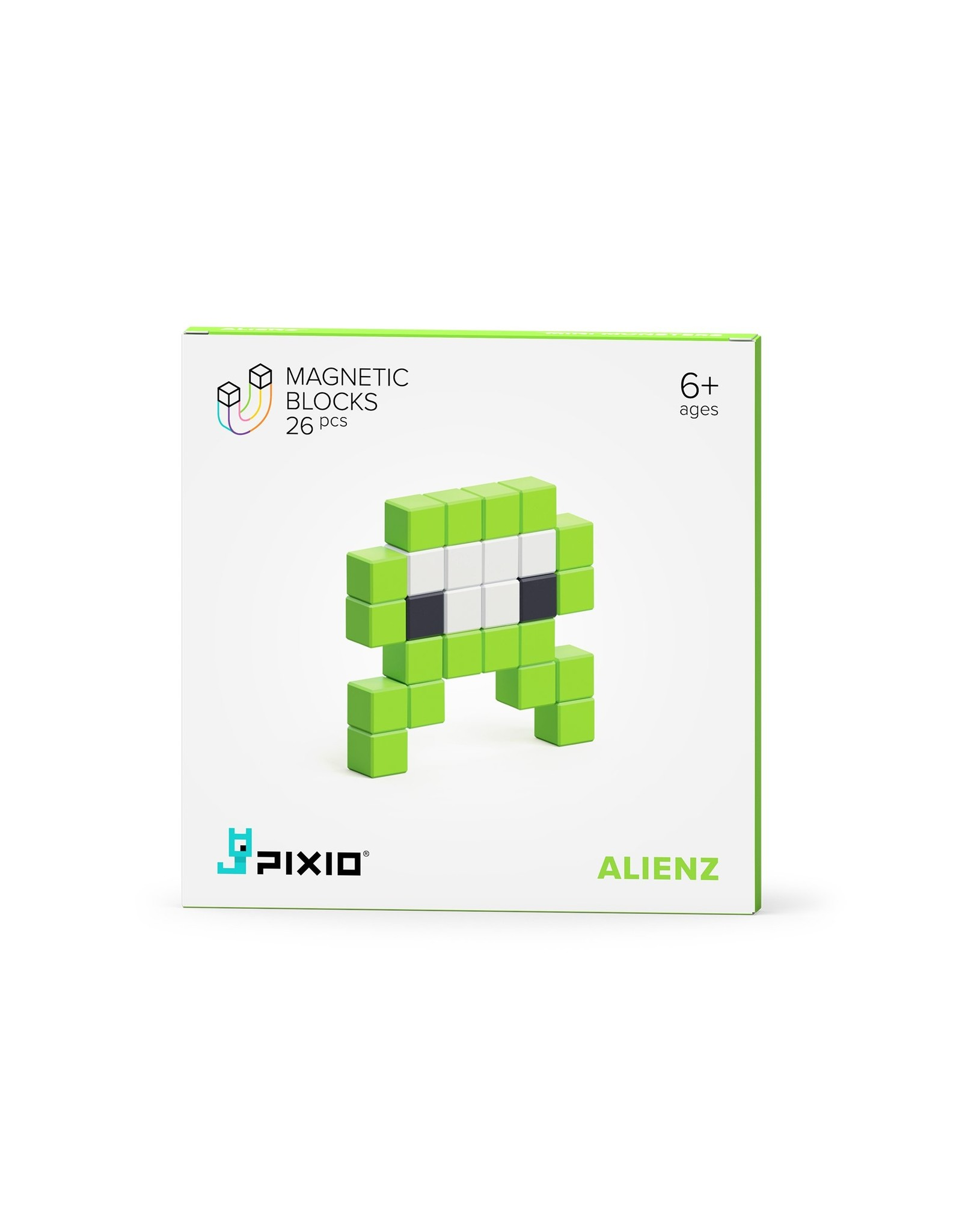 Pixio Mini Monsterz Magnetic Building Blocks