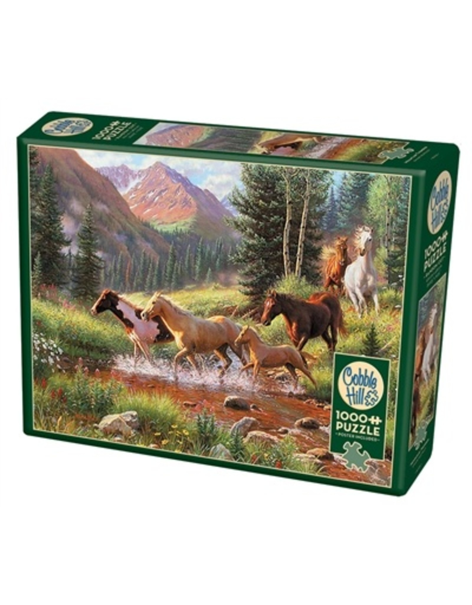 "Cobble Hill ""Mountain Thunder"" 1000 Piece Puzzle"