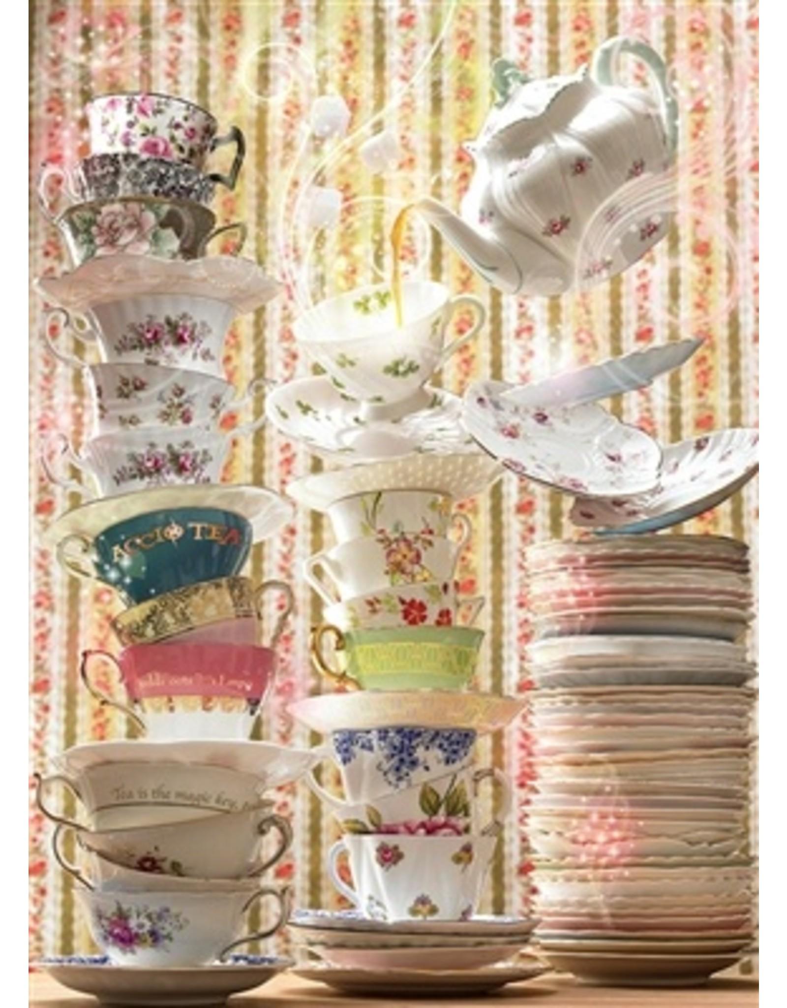 """Cobble Hill """"Magic Tea Shop"""" 1000 Piece Puzzle"""