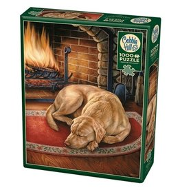 "Cobble Hill ""Home is Where the Dog is"" 1000 Piece Puzzle"