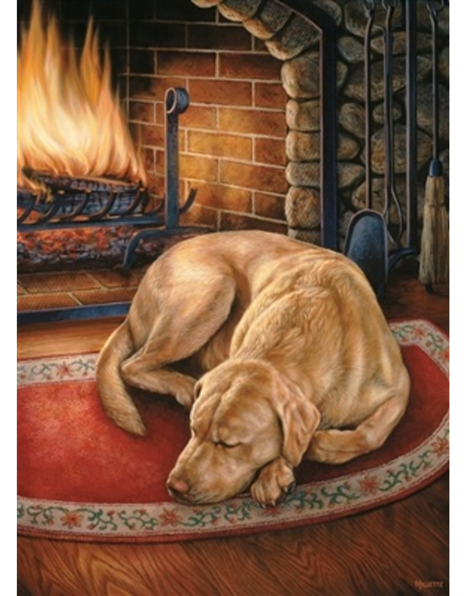 """Cobble Hill """"Home is Where the Dog is"""" 1000 Piece Puzzle"""