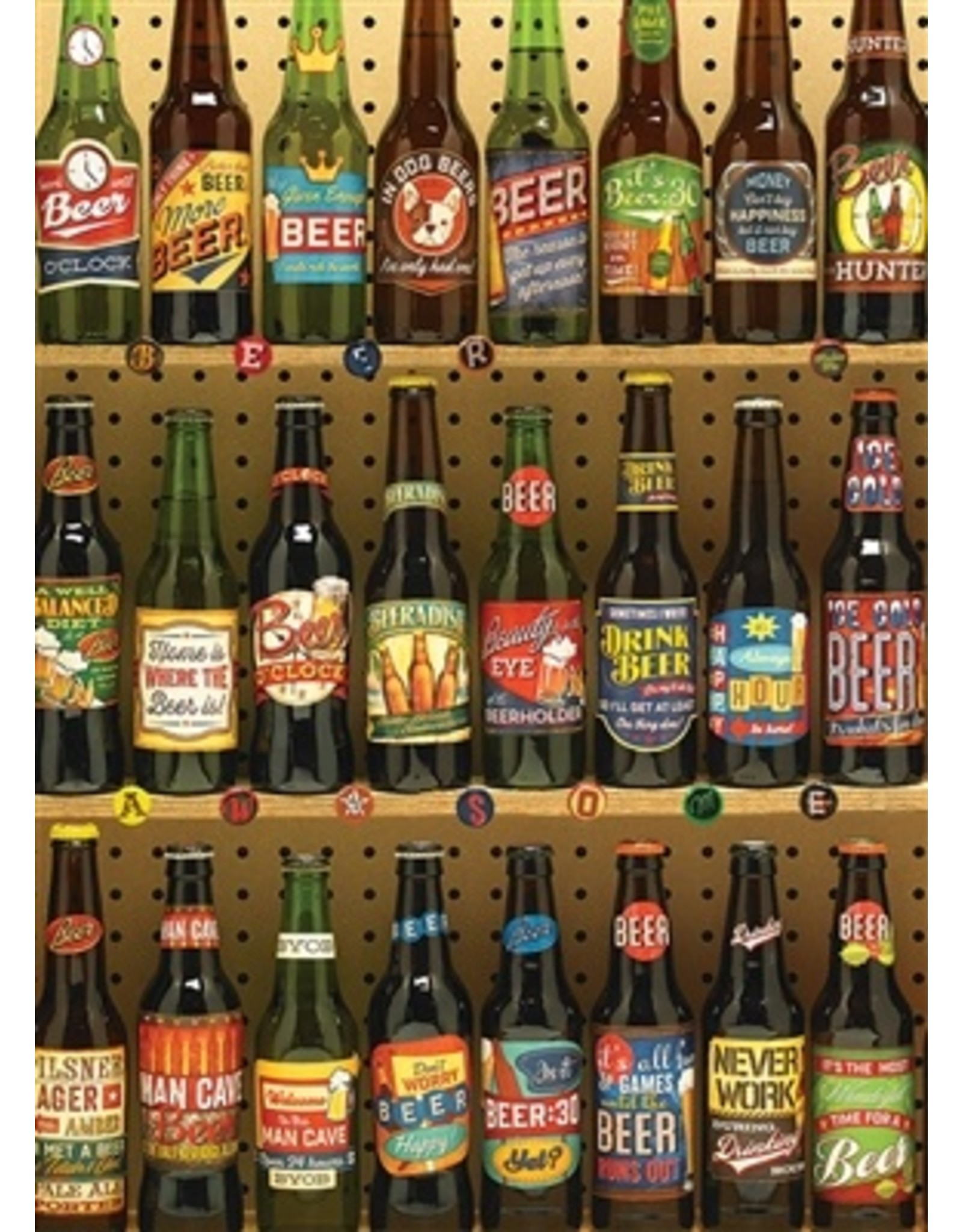 "Cobble Hill ""Beer Collection"" 1000 Piece Puzzle"