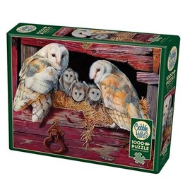 "Cobble Hill ""Barn Owls"" 1000 Piece Puzzle"
