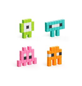 Pixio Mini Monsterz Magnetic Building Blocks
