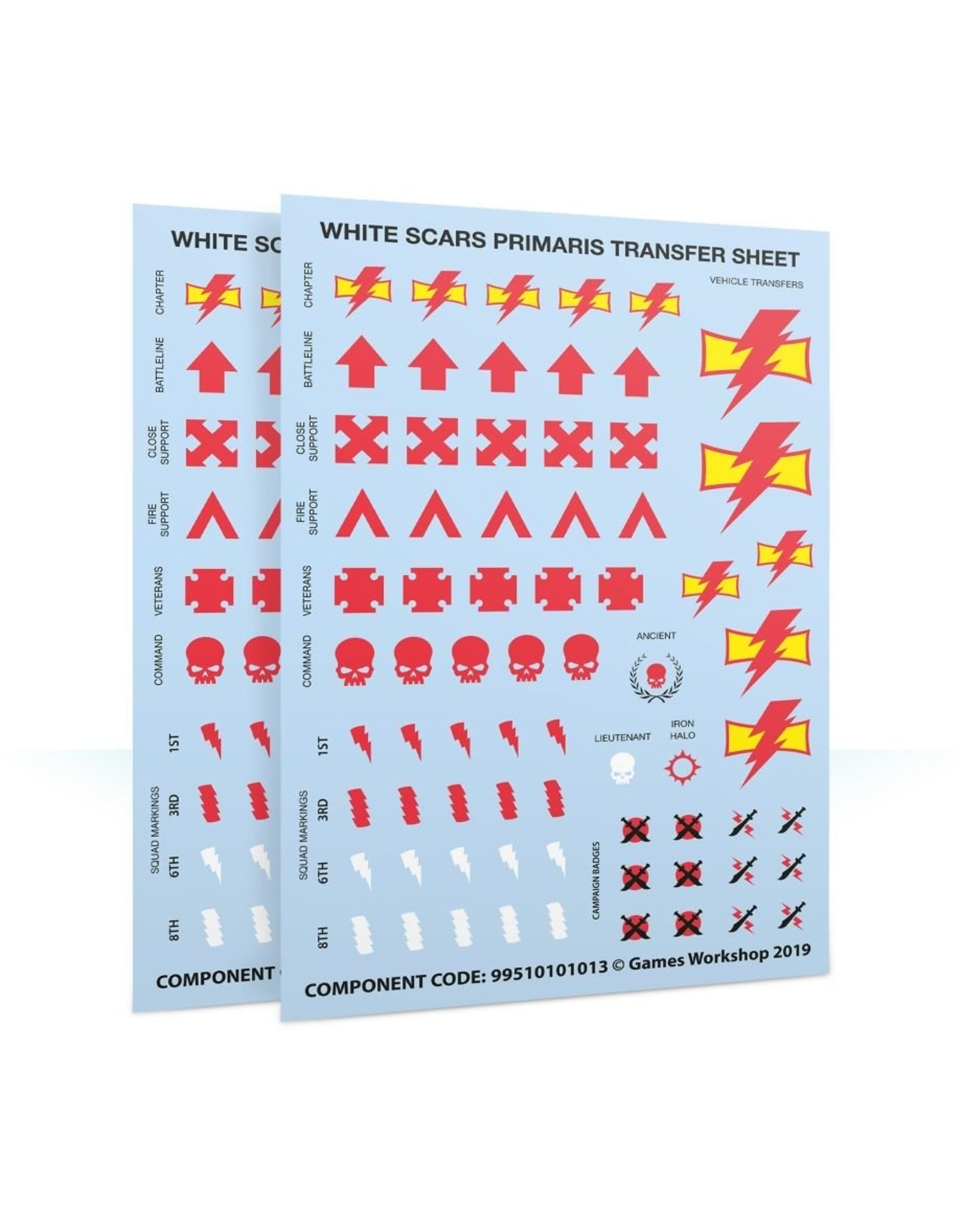Games Workshop White Scars: Primaris Upgrades & Transfers