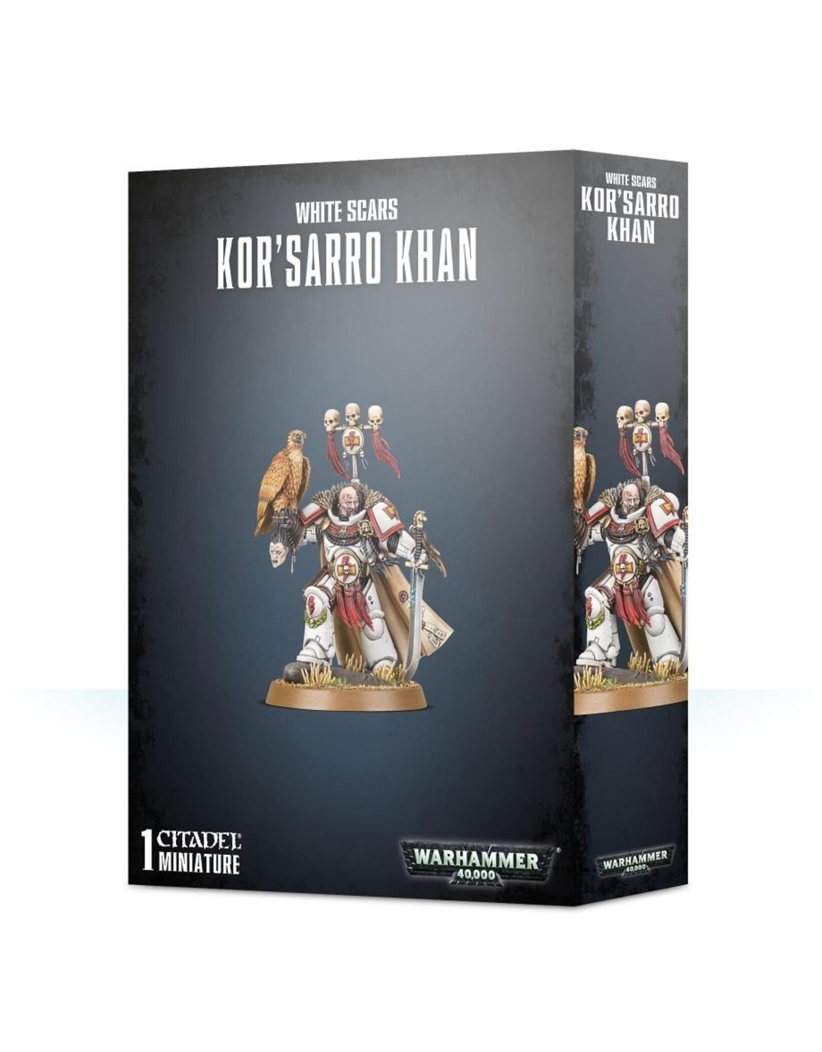 Games Workshop White Scars: Kor'Sarro Khan