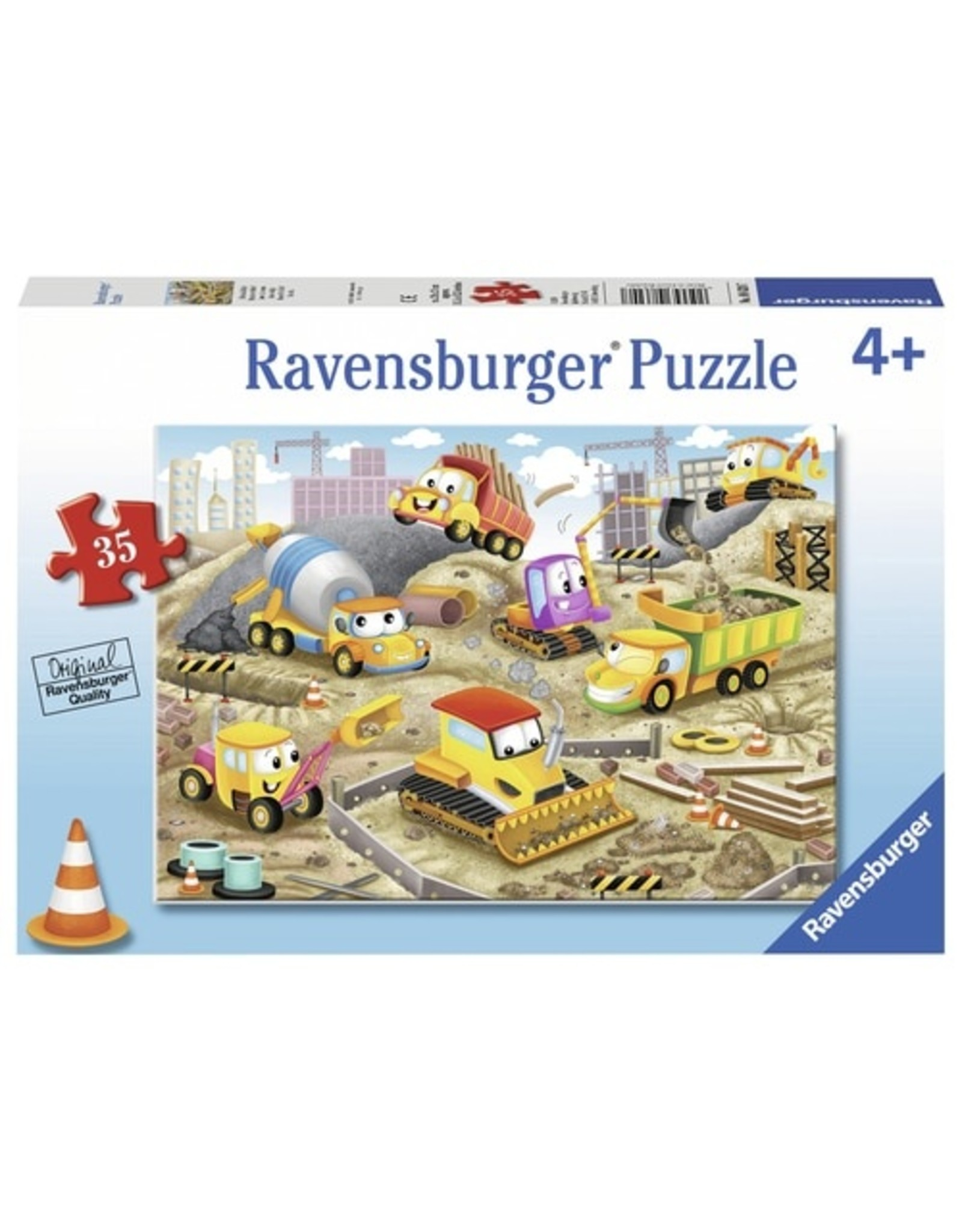 "Ravensburger ""Raise the Roof"" 35 Piece Puzzle"