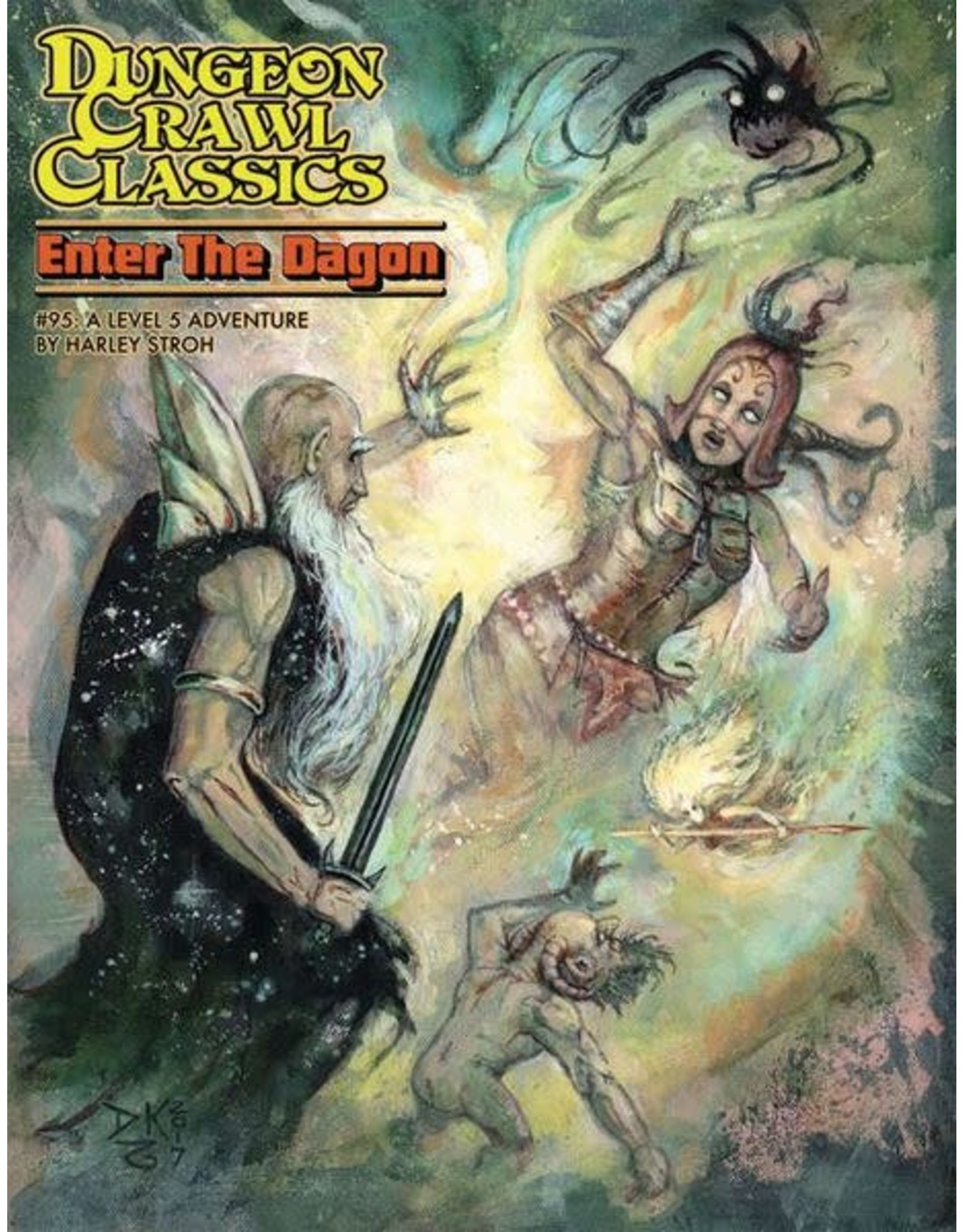 Goodman Games Dungeon Crawl Classics: Enter the Dagon (#95)