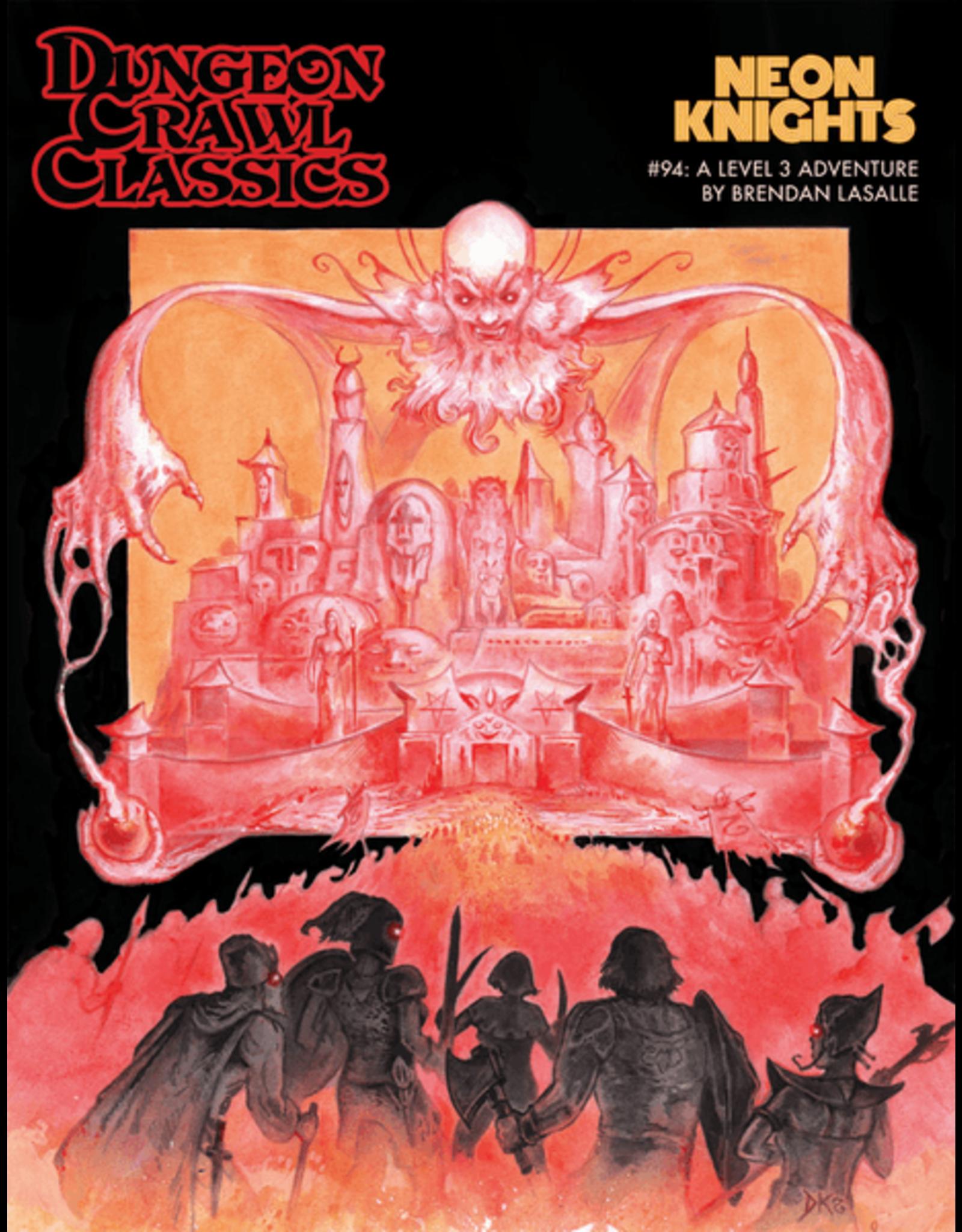 Goodman Games Dungeon Crawl Classics: Neon Knights (#94)