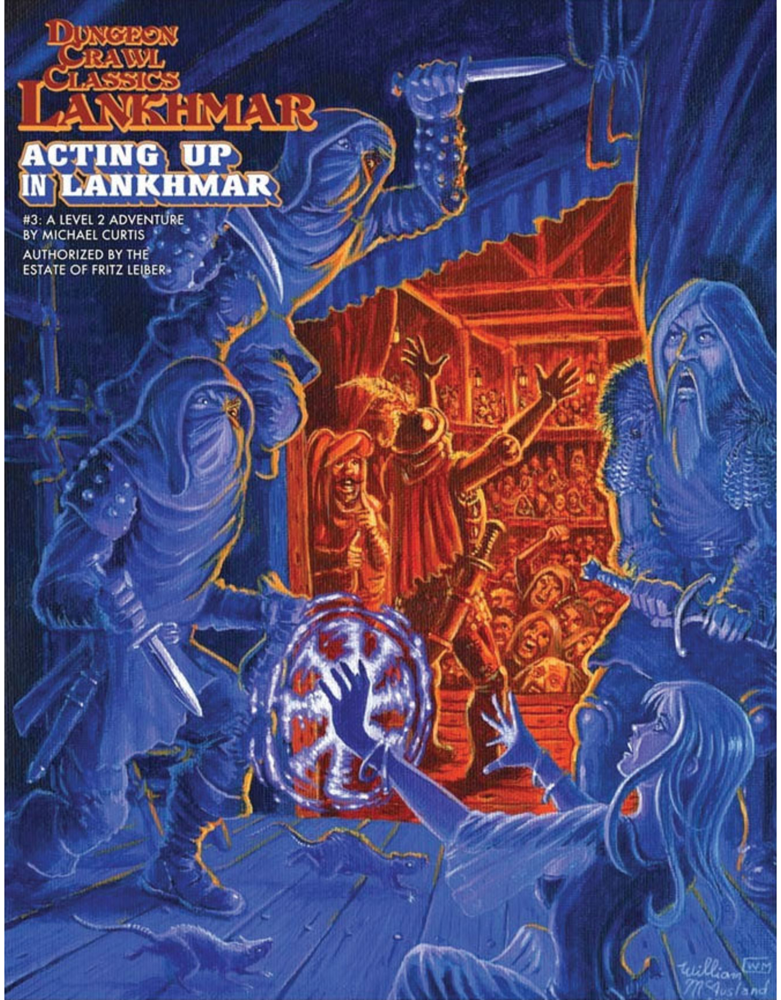 Goodman Games Dungeon Crawl Classics Lankhmar: Acting up in Lankhmar (#3)