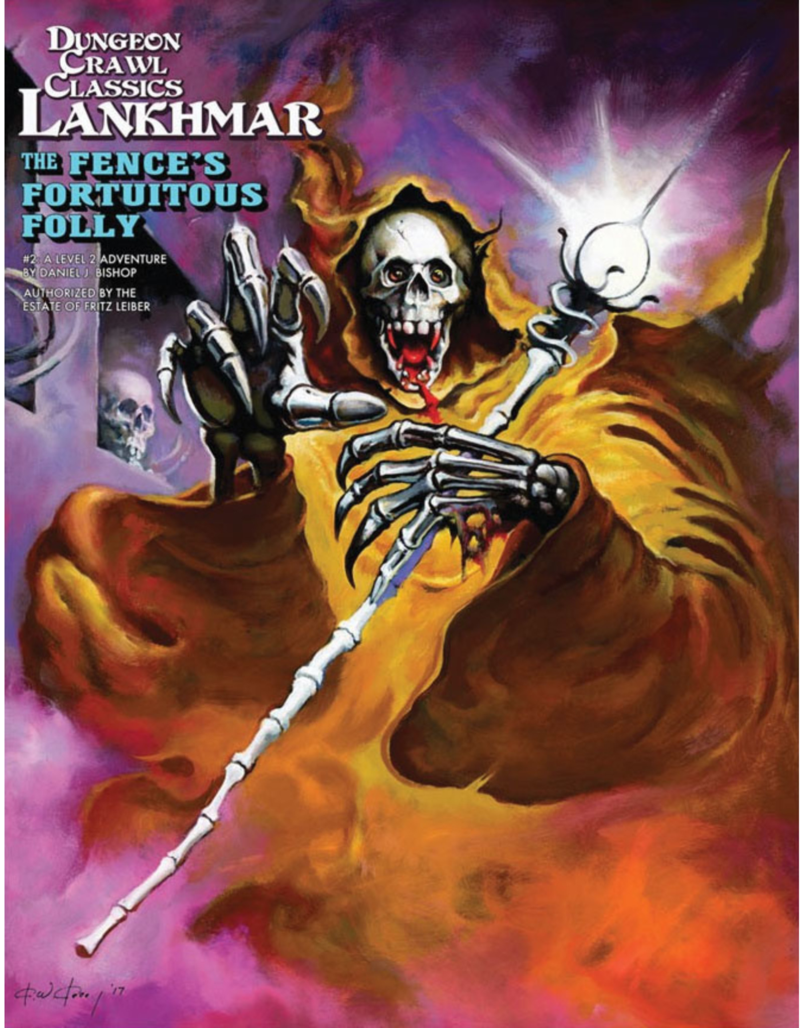 Goodman Games Dungeon Crawl Classics Lankhmar: The Fence's Fortuitous Folly (#2)