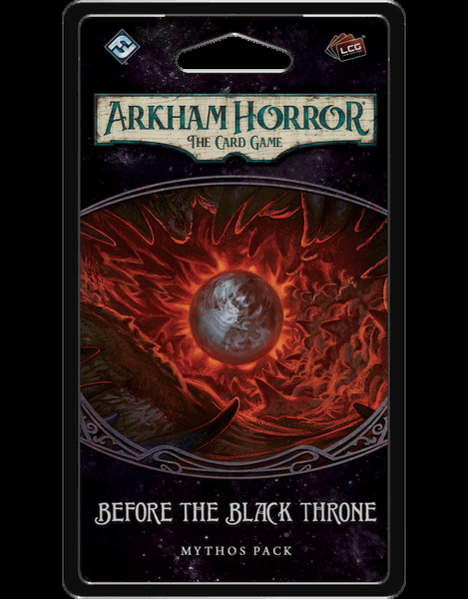 Fantasy Flight Games Arkham Horror LCG: The Circle Undone Cycle Mythos Packs