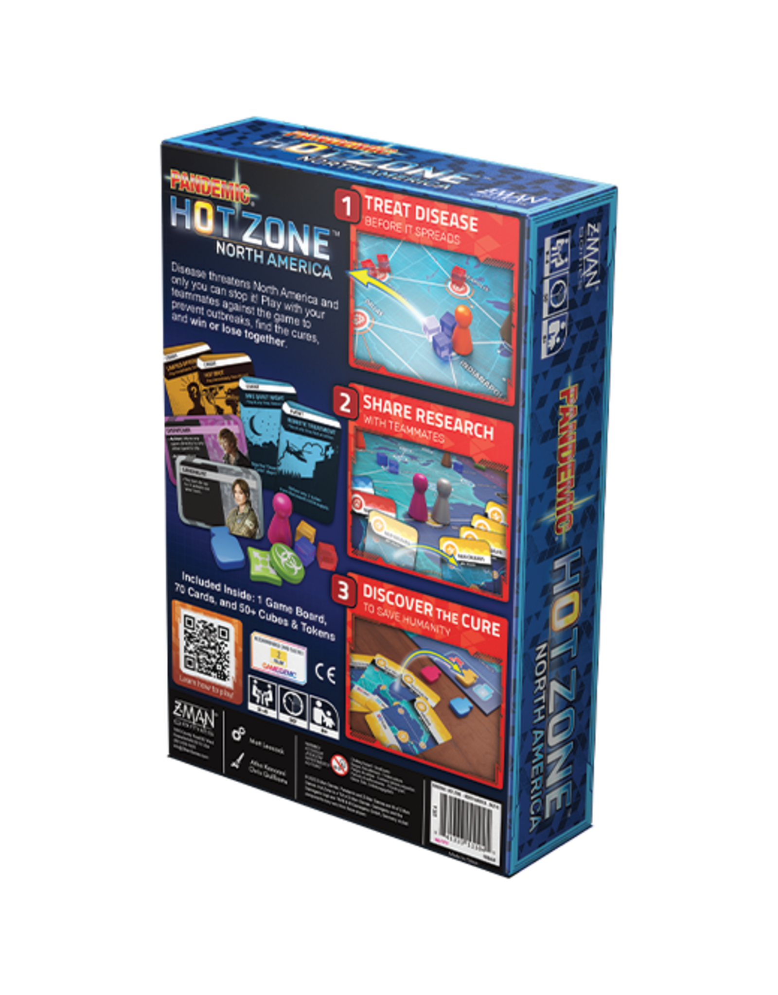 Z-Man Games Pandemic: Hot Zone North America