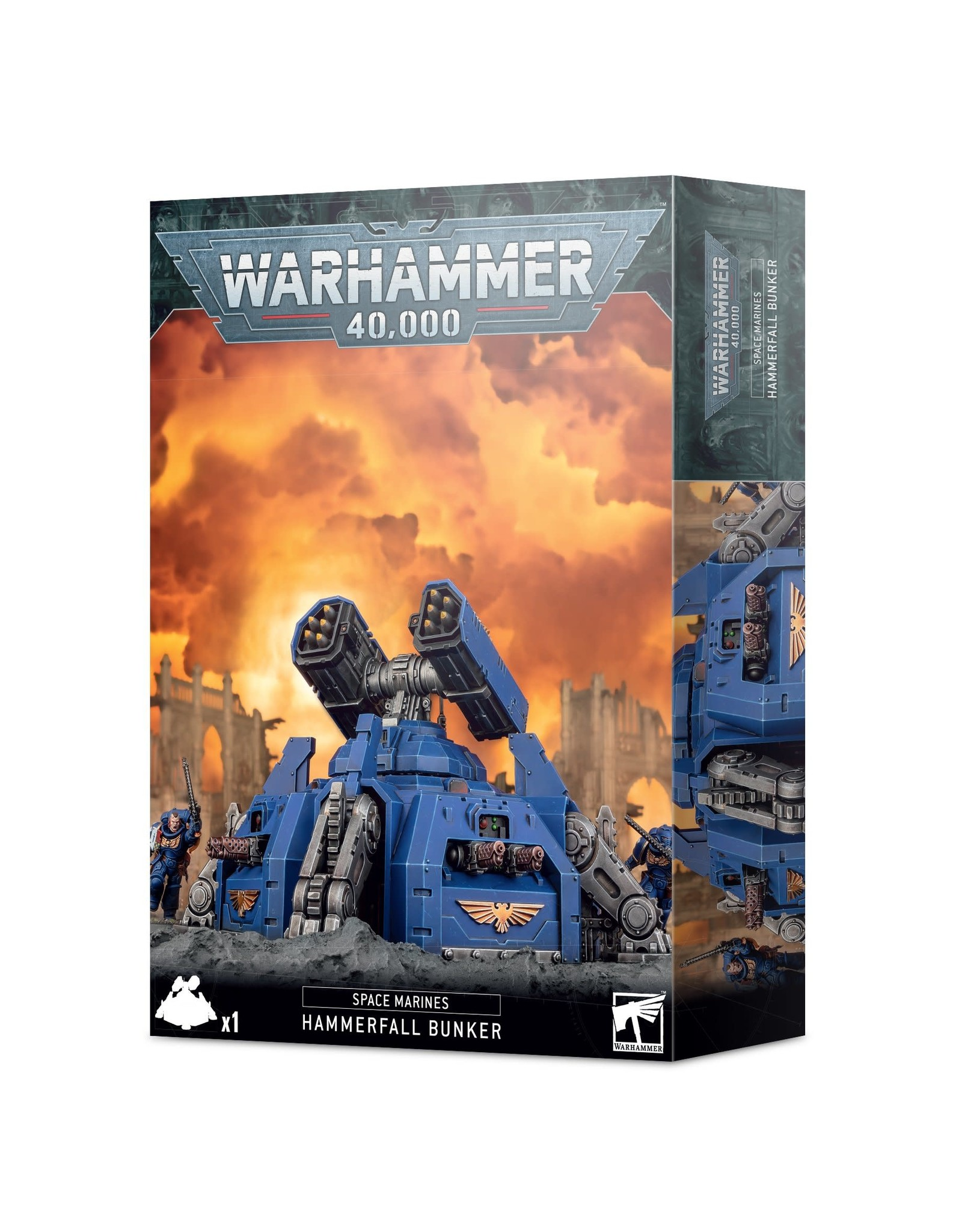 Games Workshop Space Marines: Hammerfall Bunker