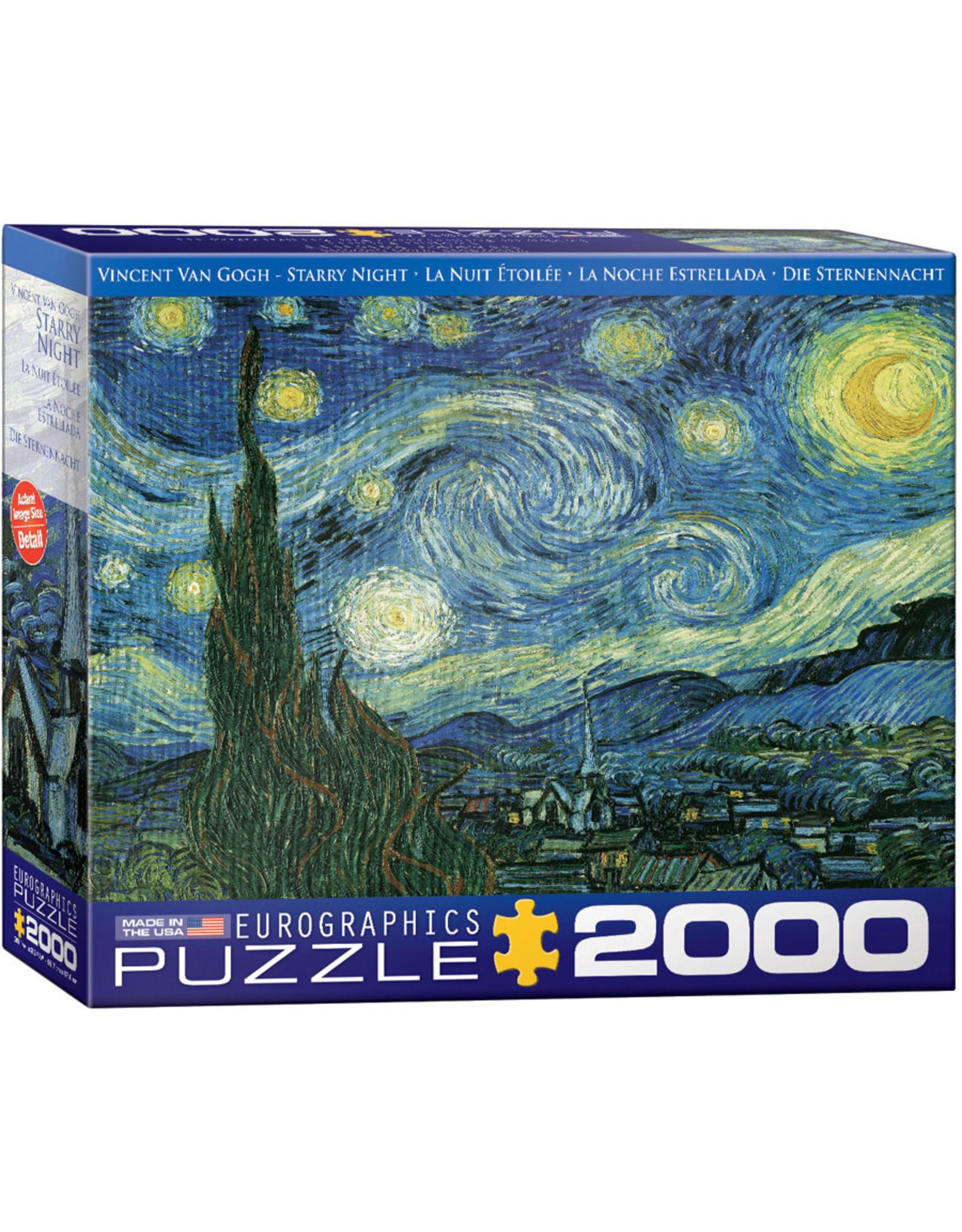 "Eurographics ""Starry Night"" 2000 Piece Puzzle"