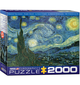 "Eurographics ""Starry Night"" 2000 Piece Puzzle"