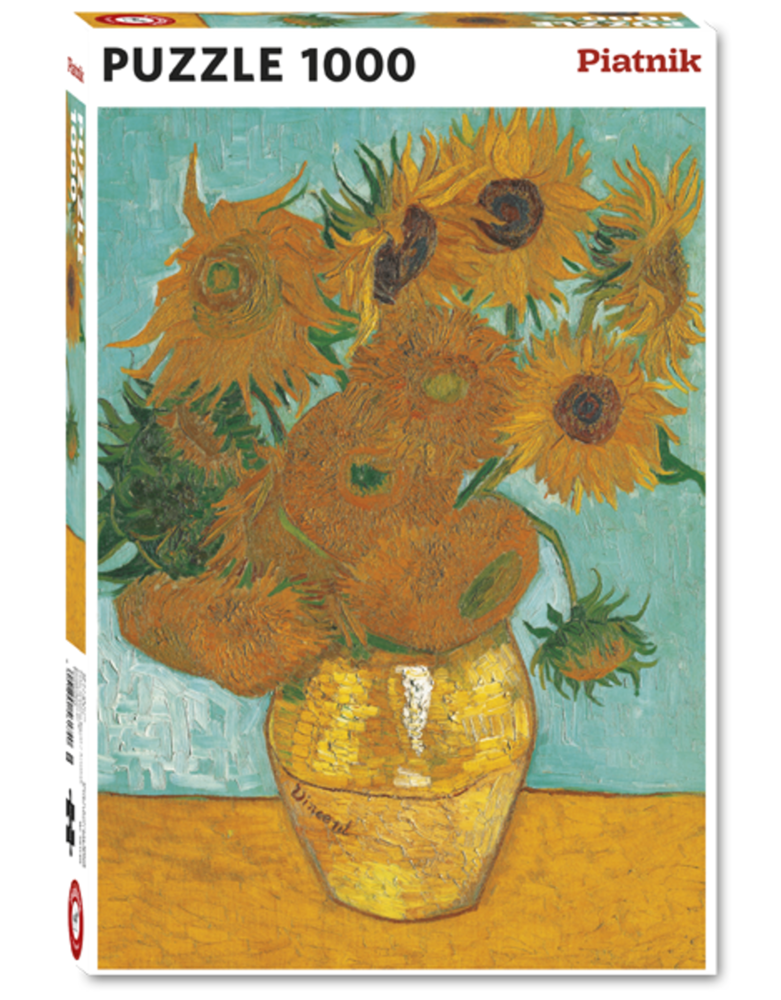 "Piatnik ""Sunflowers"" 1000 Piece Puzzle"