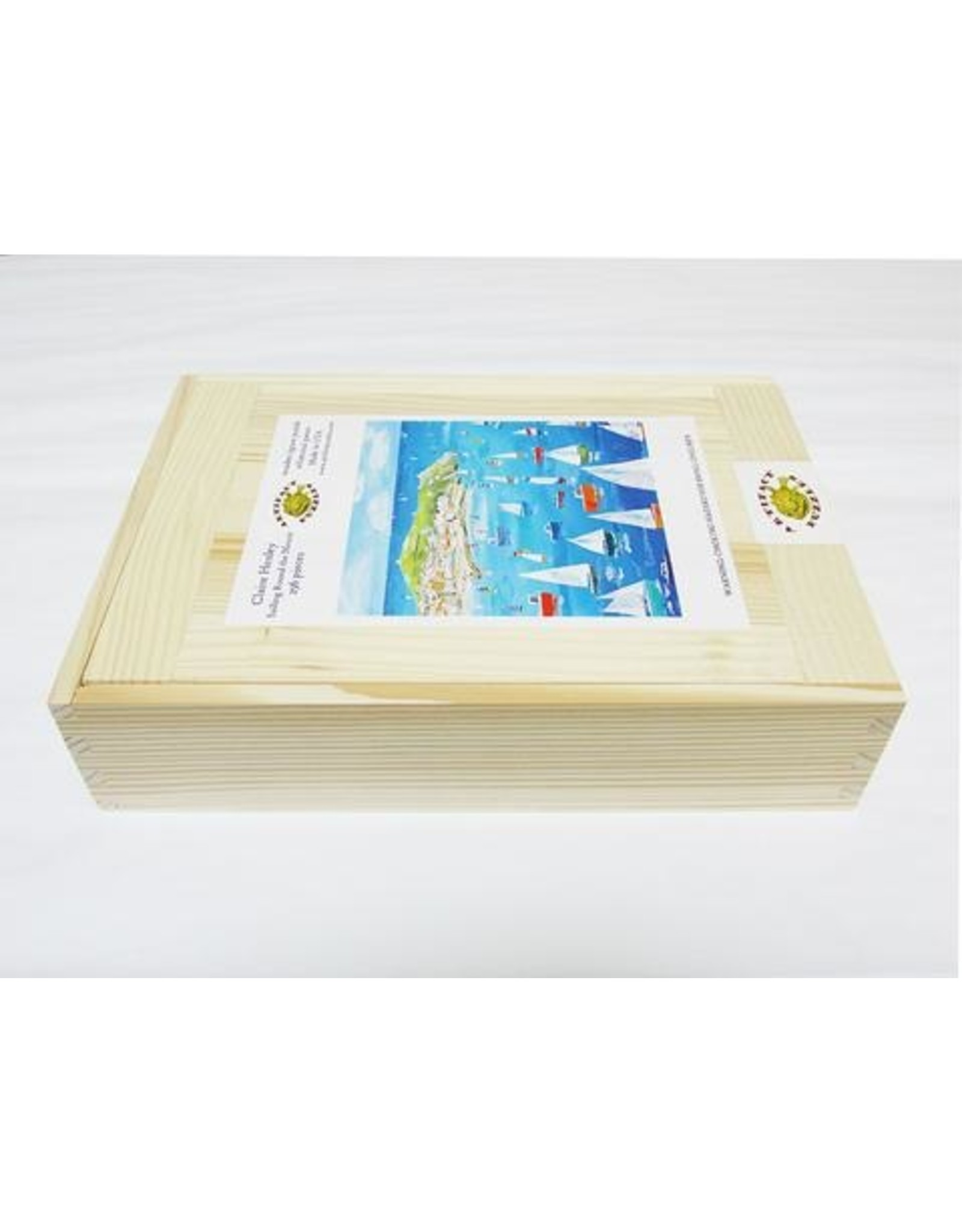 "Artifact Puzzles ""Sailing Round the Mount"" Wooden Jigsaw Puzzle"