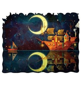 """Artifact Puzzles """"Night Ship"""" Wooden Jigsaw Puzzle"""