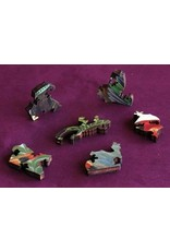 """Artifact Puzzles """"Hummingbirds"""" Wooden Jigsaw Puzzle"""