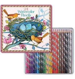 eeBoo Bird's Nest Watercolor Pencils