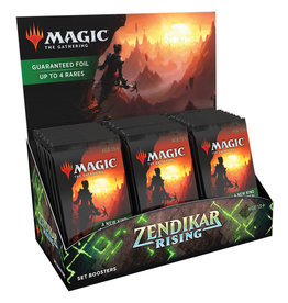 Wizards of the Coast MtG: Zendikar Rising Set Booster Box