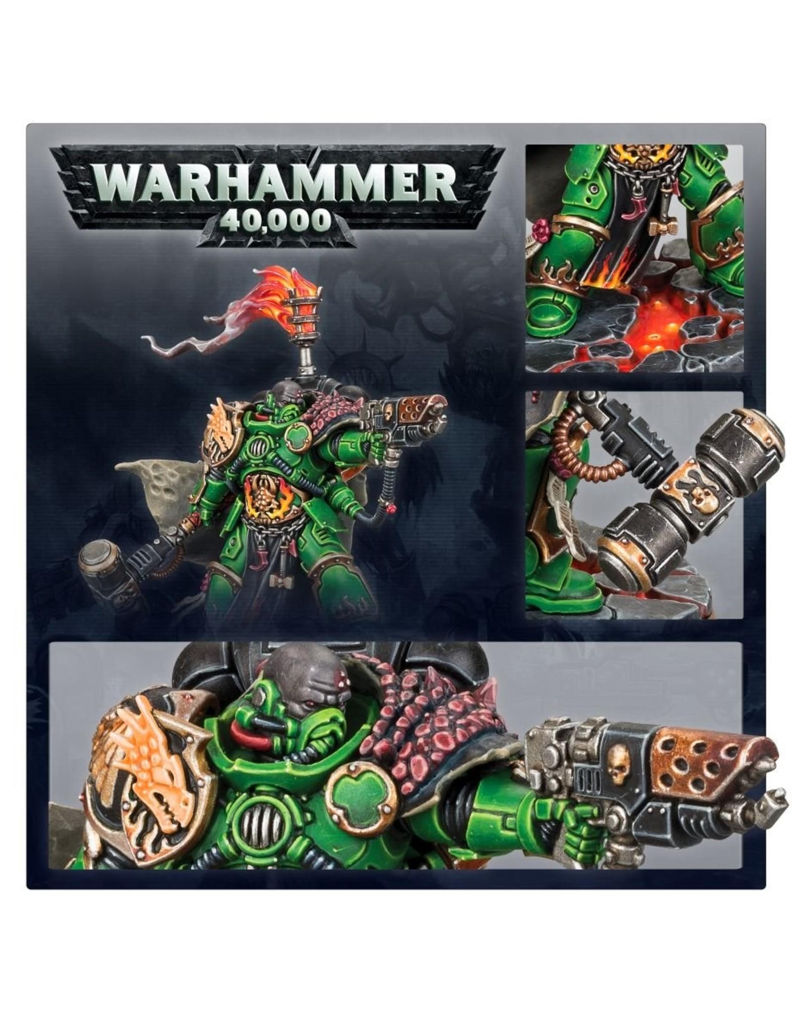 Games Workshop Space Marine: Salamanders Adrax Agatone