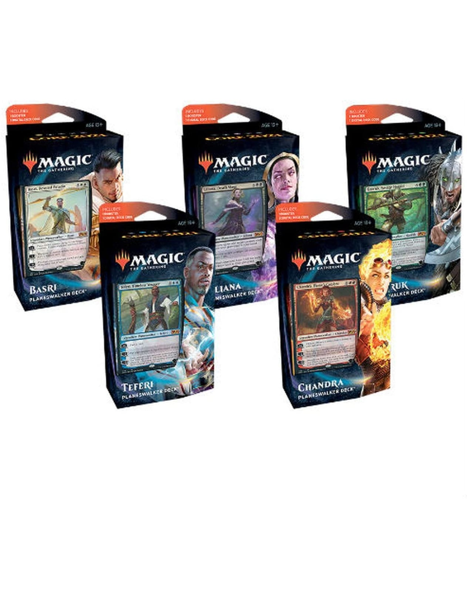 Wizards of the Coast MtG: Core 2021 Planeswalker Decks