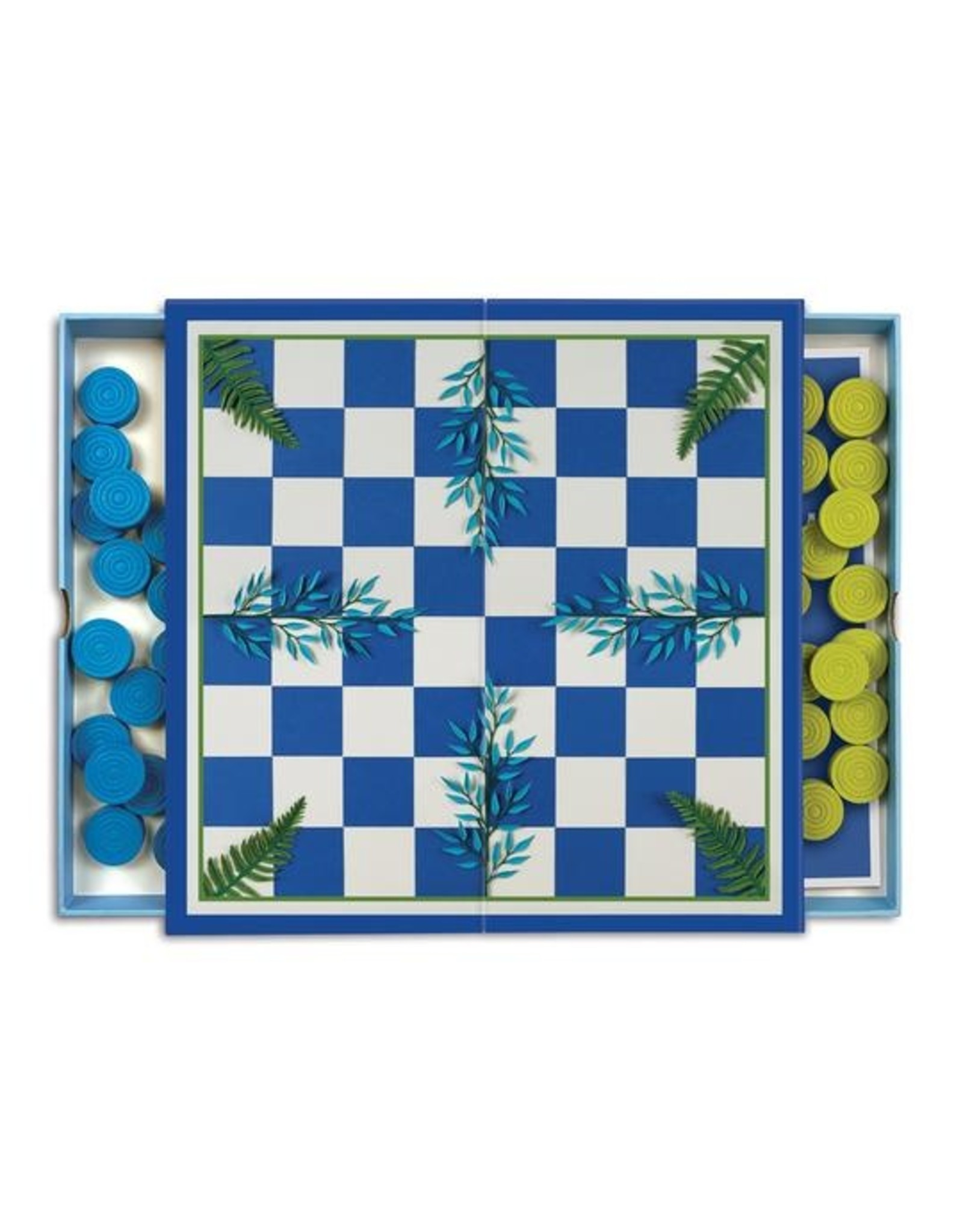 Chronicle Book Group Botanica 2 - In - 1 Travel Game Set