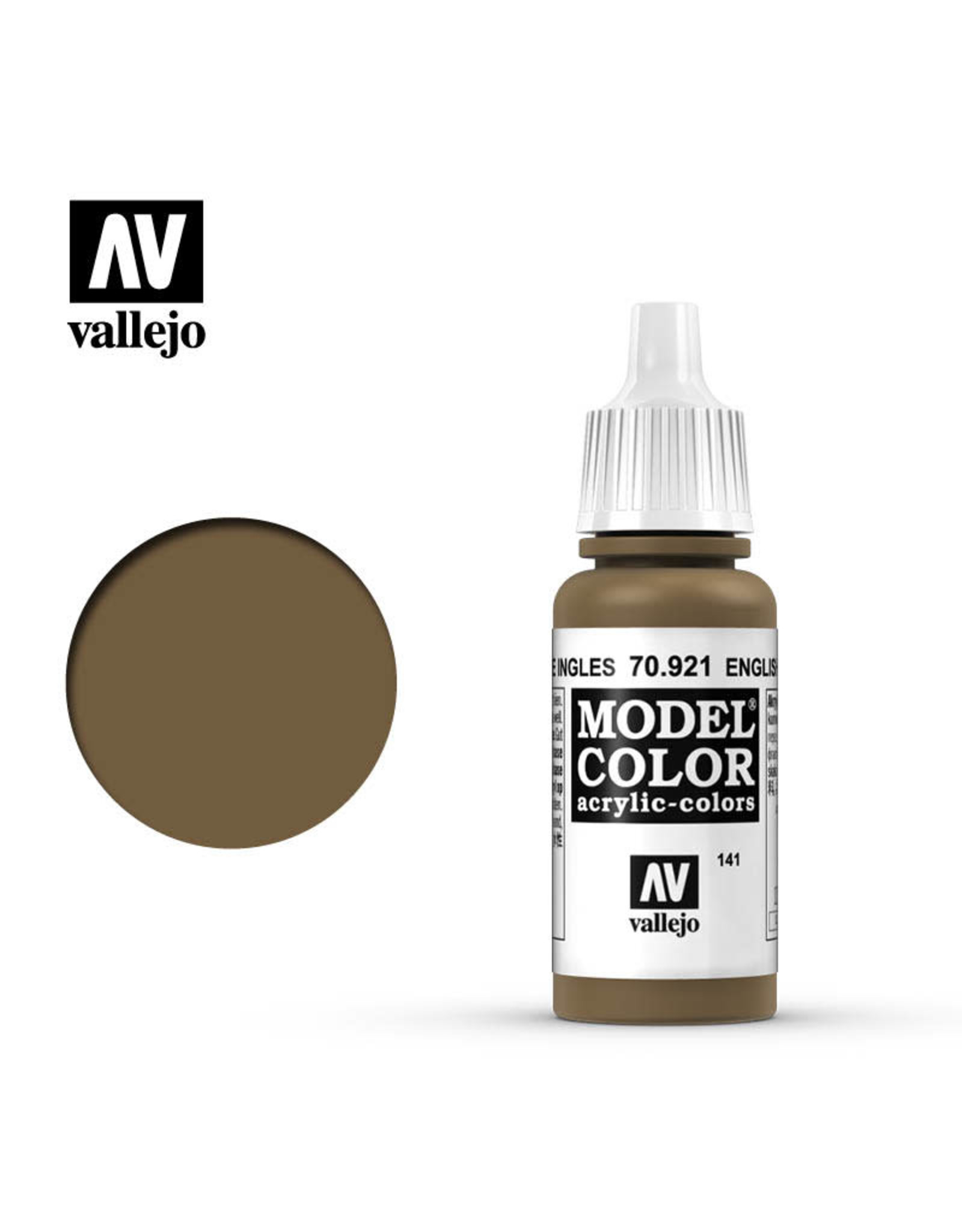 Vallejo Vallejo Model Colors: Brown Shades