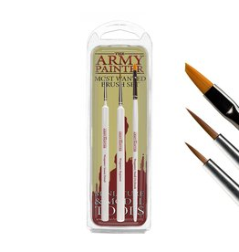 Army Painter Hobby Starter: Wargamers Most Wanted Brush Set