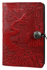 Oberon Design Large Wrapped Panel Leather Journal