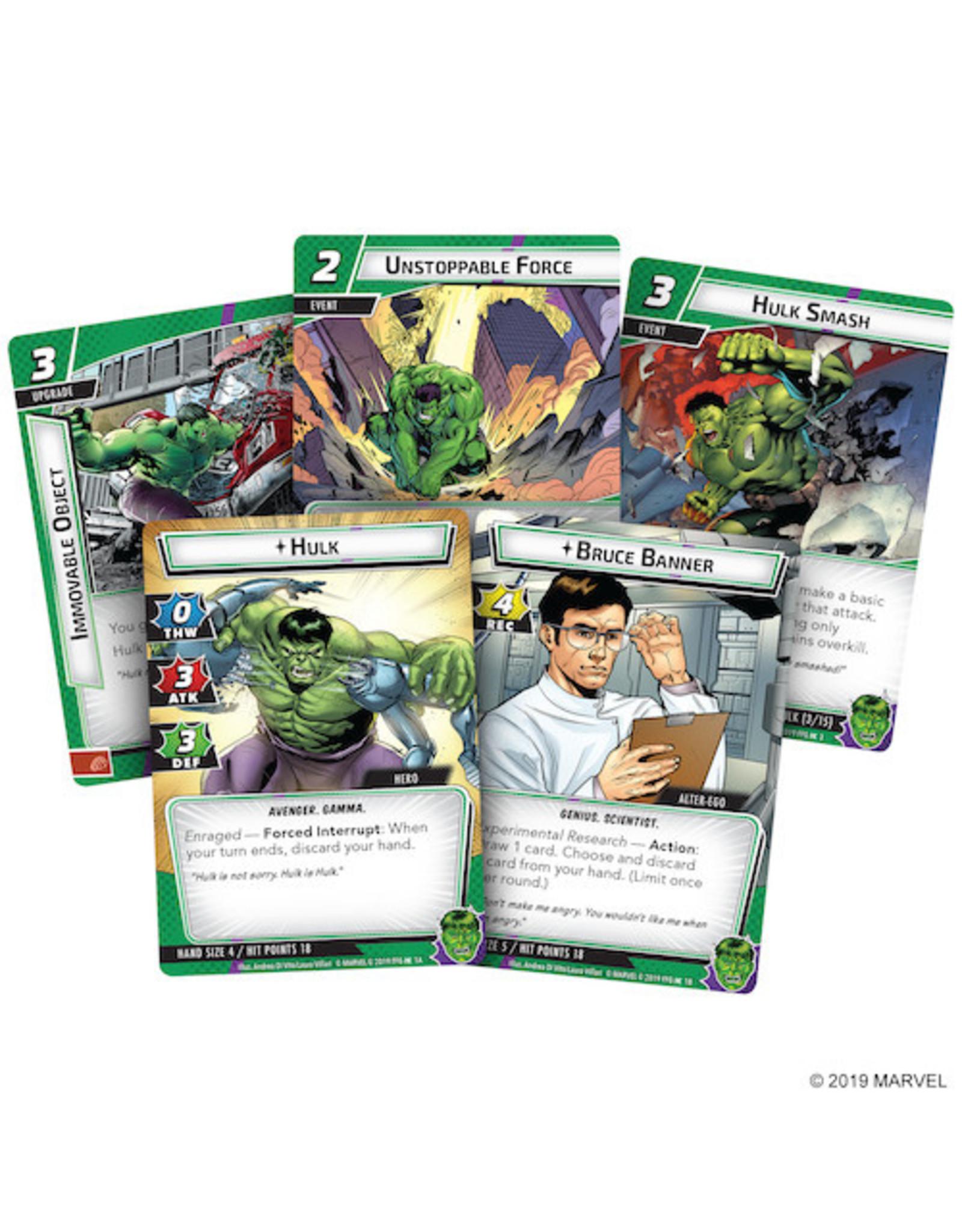 Fantasy Flight Games Marvel Champions LCG: Hulk Hero Pack