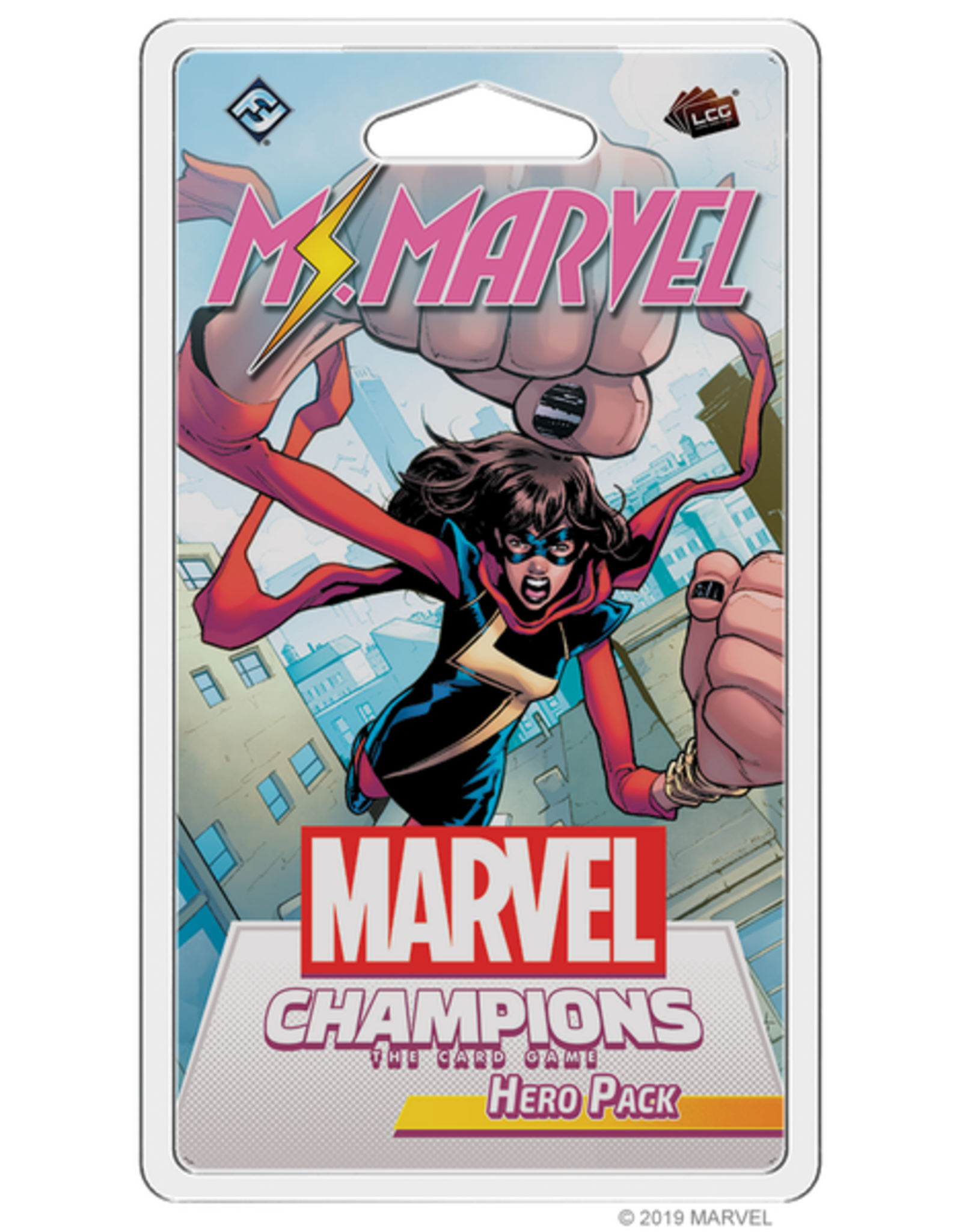 Fantasy Flight Games Marvel Champions LCG: Ms Marvel Hero Pack