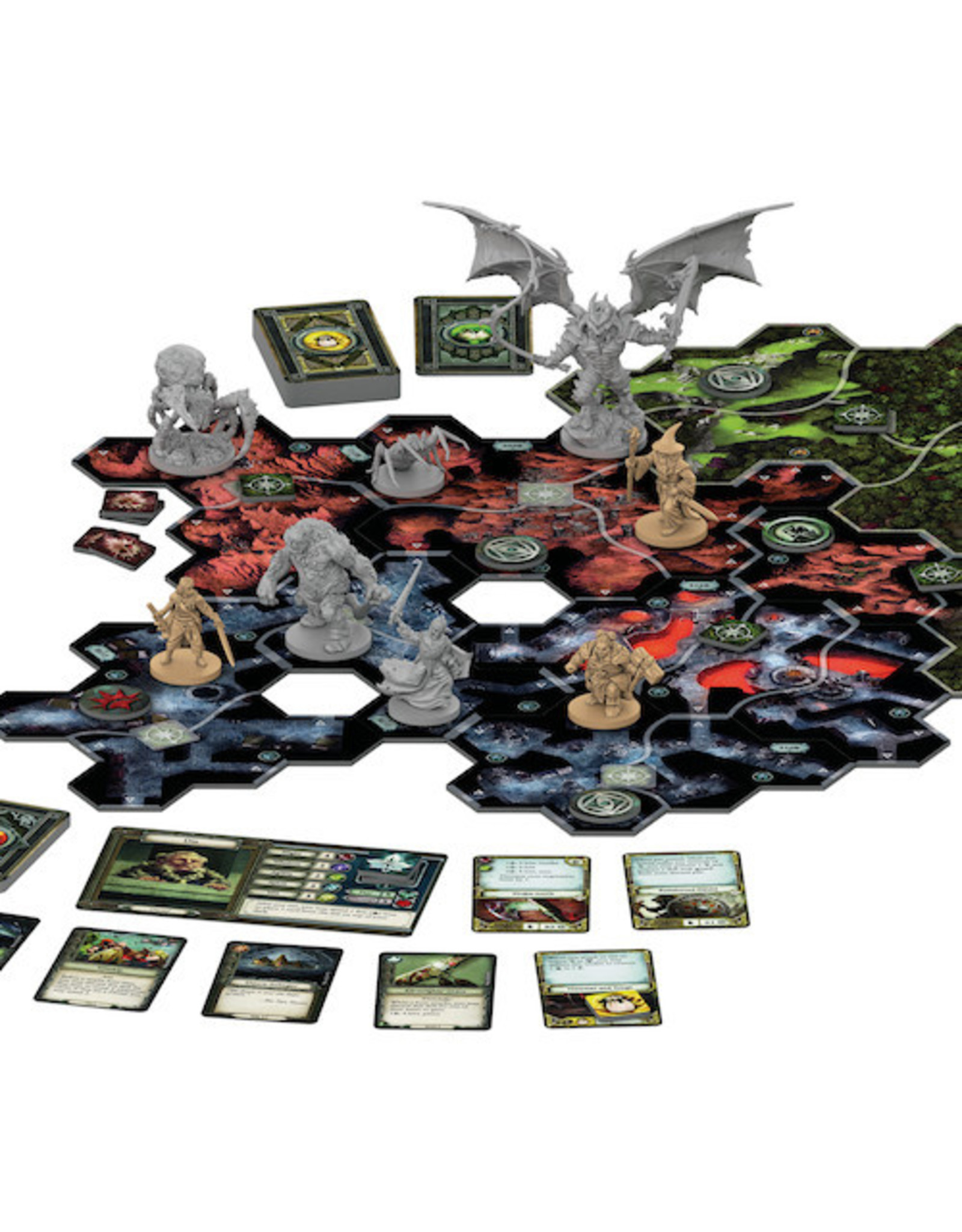 Fantasy Flight Games The Lord of the Rings: Journey's in Middle Earth: Shadowed Paths Expansion