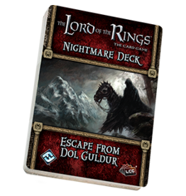 Fantasy Flight Games The Lord of the Rings LCG: Escape from Dol Guldur Nightmare Deck