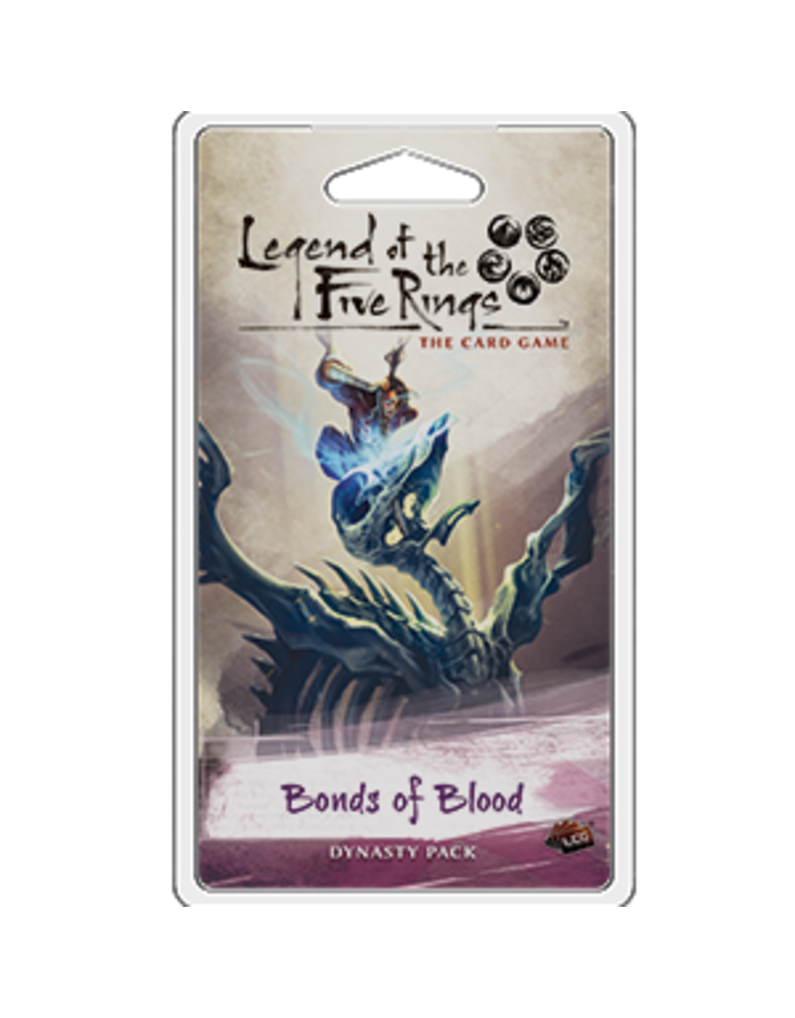 Fantasy Flight Games Legend of the Five Rings LCG: Bonds of Blood Dynasty Pack