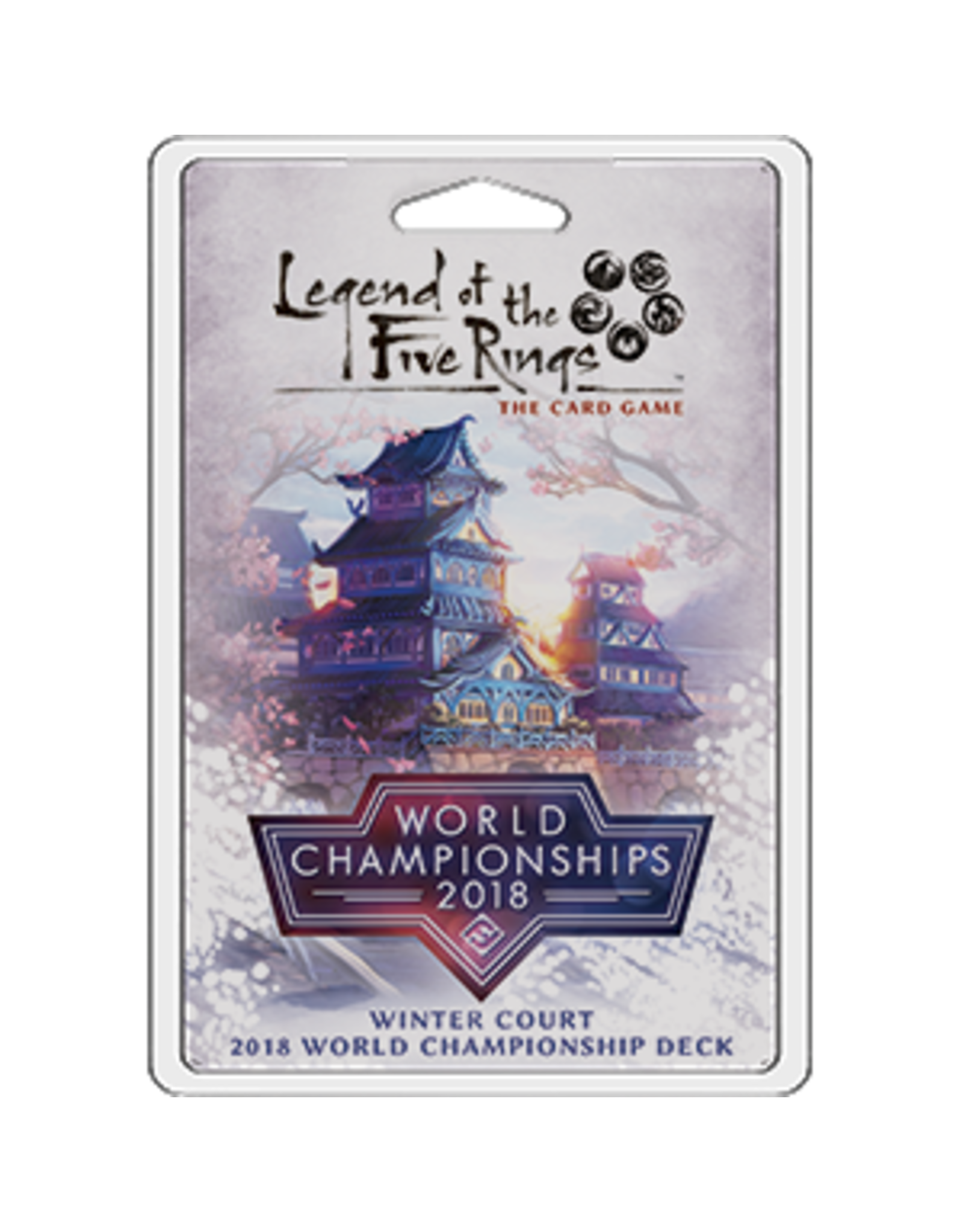 Fantasy Flight Games Legend of the Five Rings LCG: Winter Court 2018 World Champion Deck
