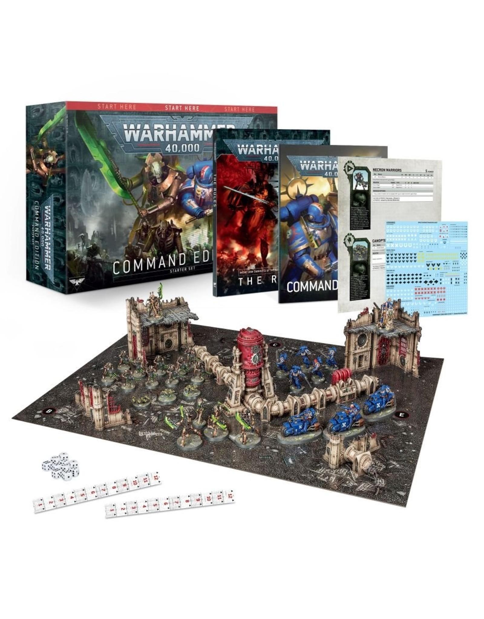 Games Workshop WARHAMMER 40000:  Command Edition